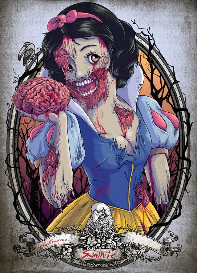 Princesses Zombies