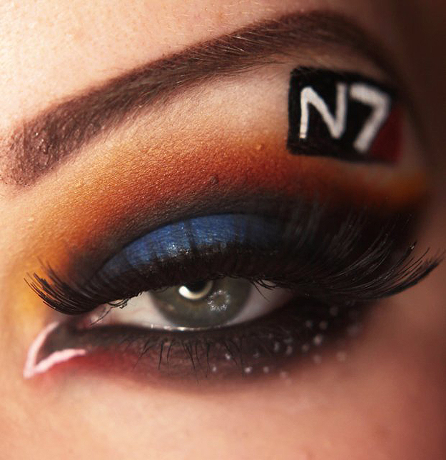 Mass Effect - [Maquillage] Cosplay pour les yeux