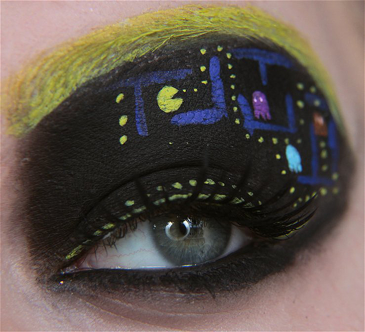Pacman - [Maquillage] Cosplay pour les yeux