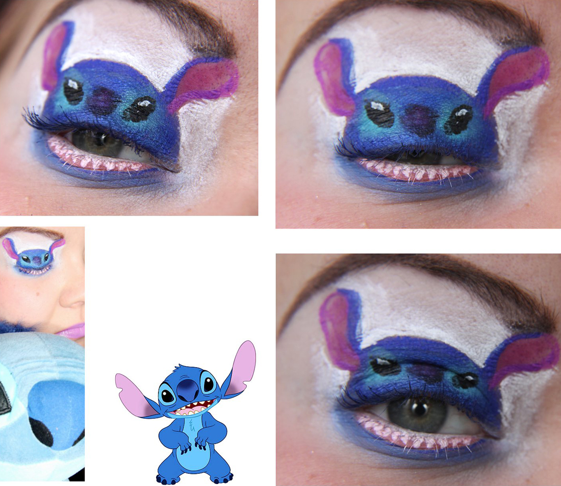Stitch - [Maquillage] Cosplay pour les yeux