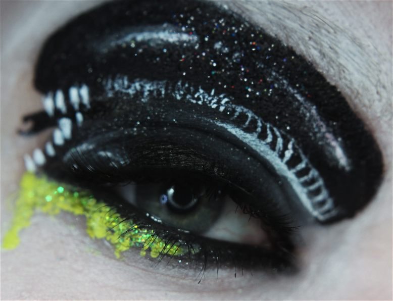 Alien - [Maquillage] Cosplay pour les yeux