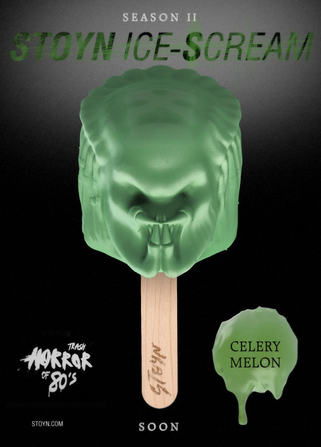 Popsicles de personnages de films d'horreur ou de sci-fi