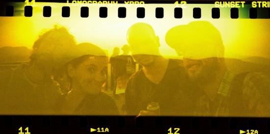 Un exemple de photo prise avec le Lomography Color X-Pro Sunset Strip