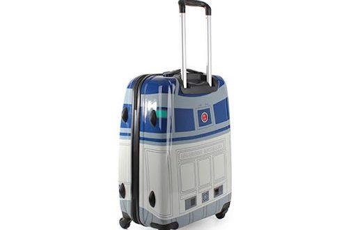 L'alliée des vacances geek: la valise R2-D2