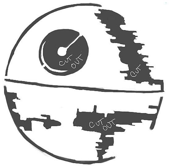 Citrouille Death Star - Halloween