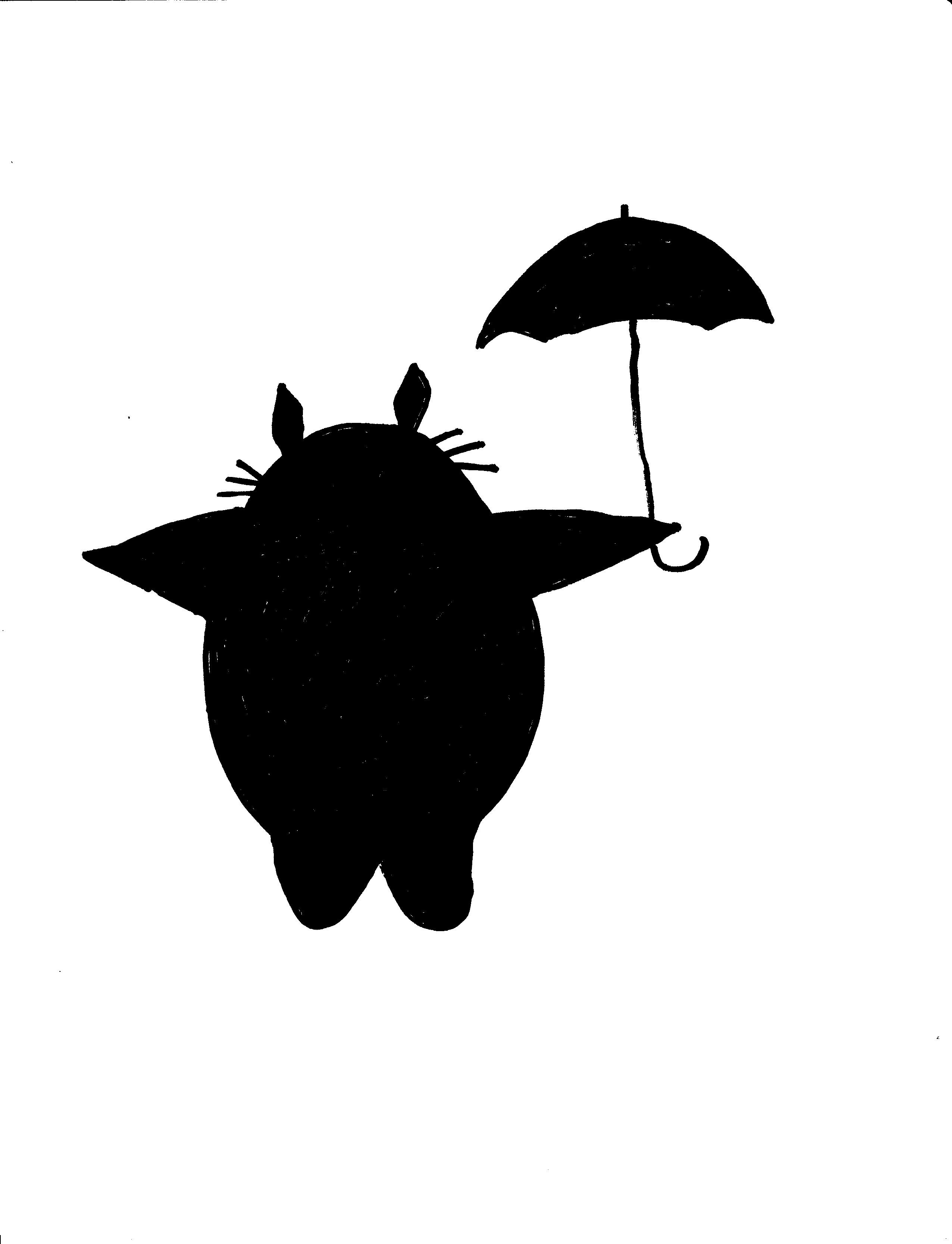 Citrouille Totoro - Halloween