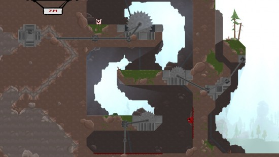 Super Meat Boy   Le guide cadeau 2012: Les jeux Indie