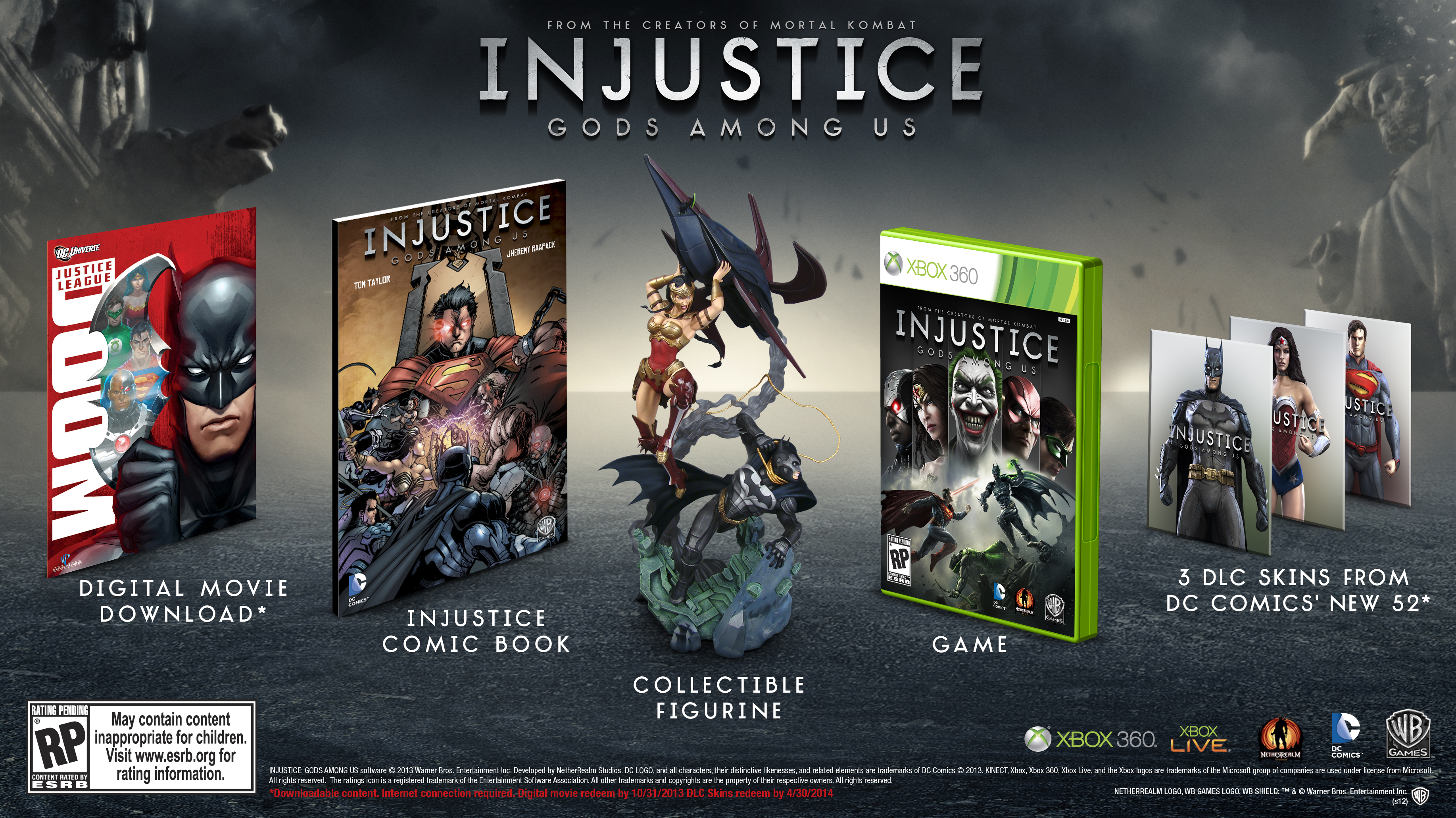 Injustice : Gods Among Us – Date de sortie et éditions spéciales révélée!