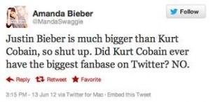 Justin Bieber vs Nirvana