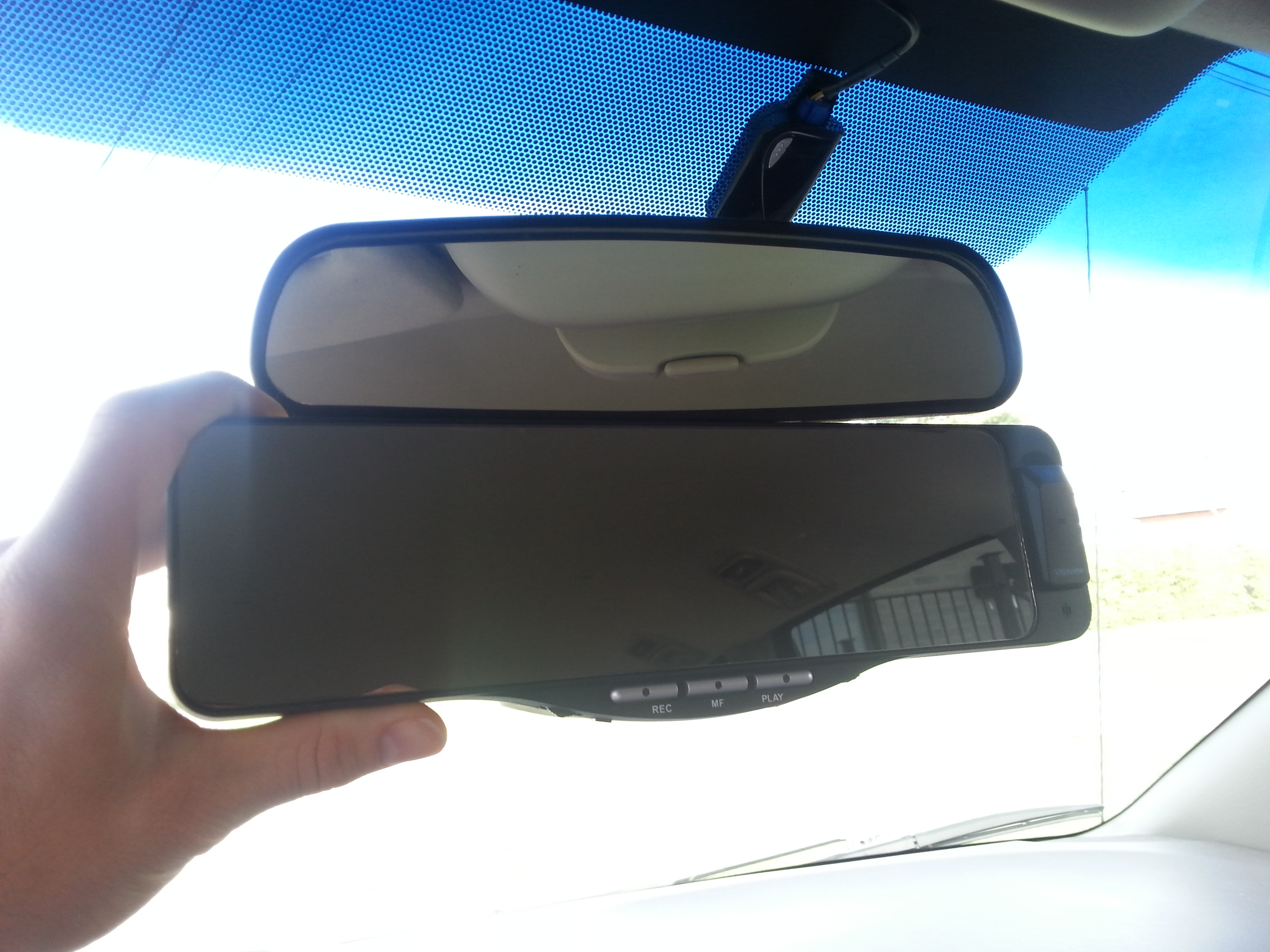 Miroir Bluetooth VistaView