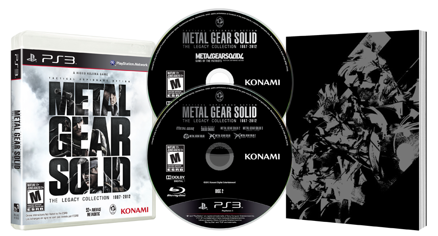 Metal Gear Solid: The Legacy Collection | E3 2013 Konami