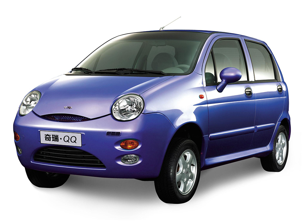 Chery QQ3 - 6 voitures particulières pour changer de la routine