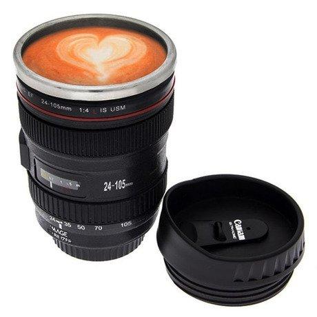 """Tasse à café """"Lentille de caméra"""" - Fête des Pères"""