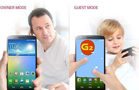 LG G2 | Guest mode