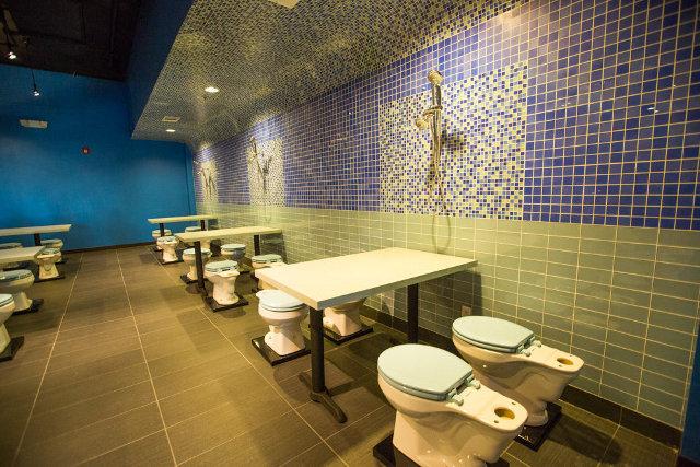 Restaurant Toilette 2