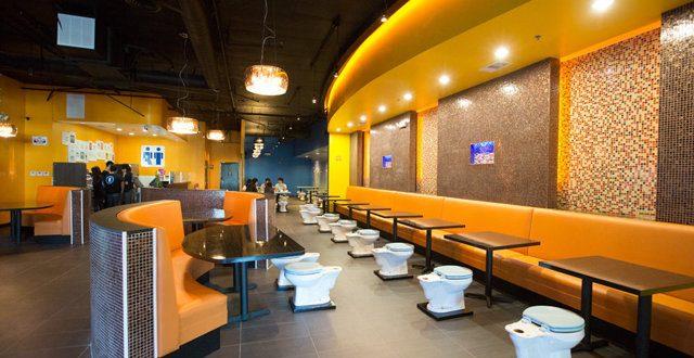 Restaurant toilette 1
