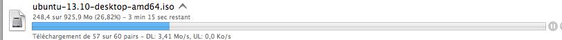 Vitesse avec un serveur VPN P2P