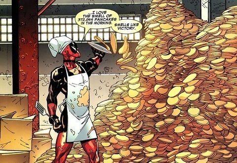 deadpool pancakes