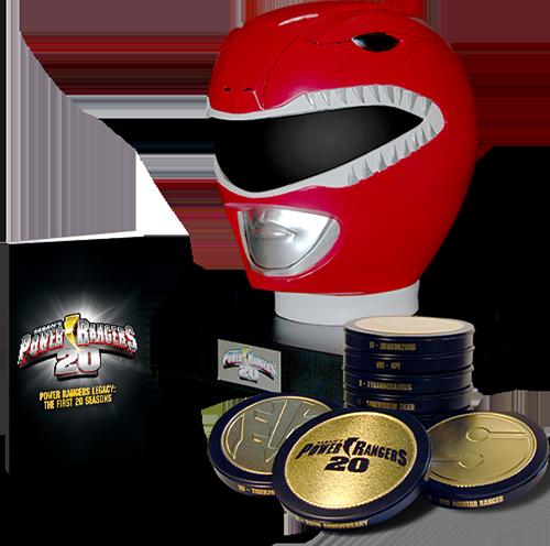 power Rangers DVD
