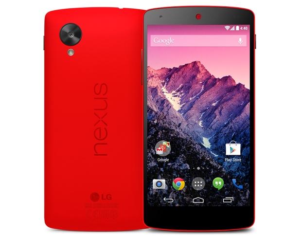 Nexus 5 Rouge - Parfait pour la St-Valentin