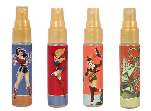 Se parfumer comme un super-héro