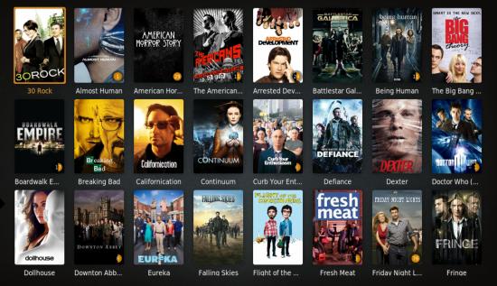 Plex - Affichage de films