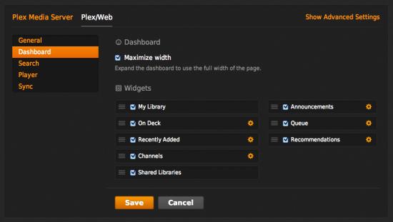Plex Web