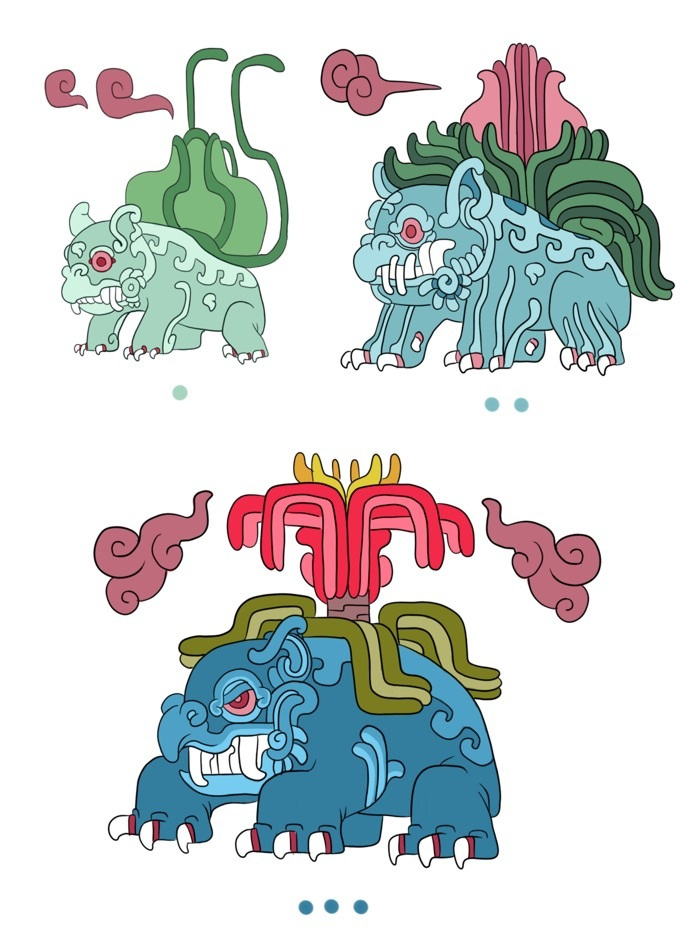 bulbasaur evolution