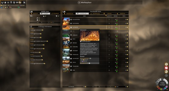 Roving Clans MarketPlace Screenshot