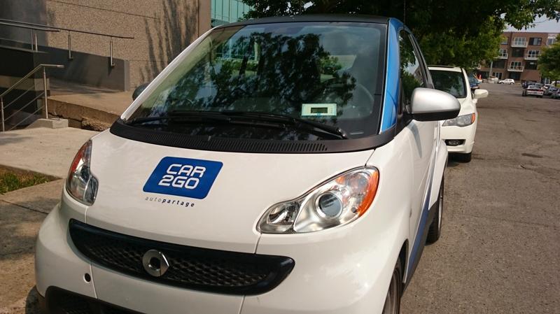 Mon essai de Car2Go Montréal