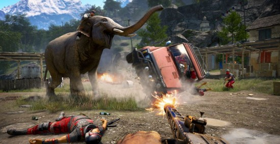 far cry elephant