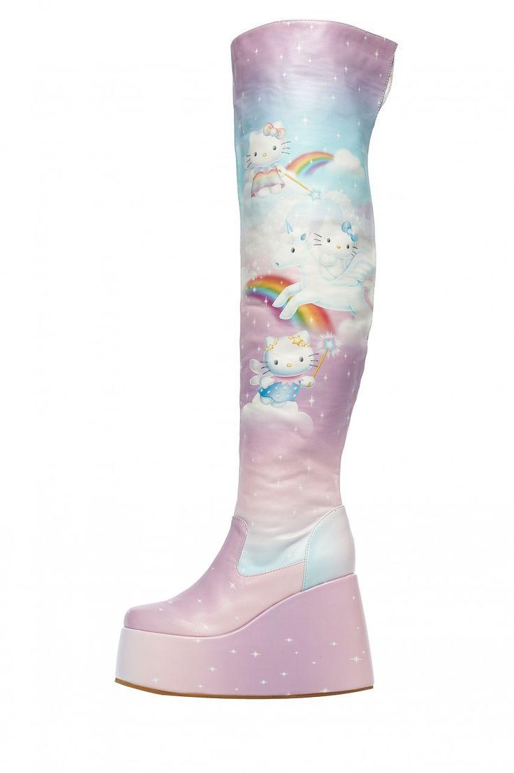 Chaussures hautes Hello Kitty