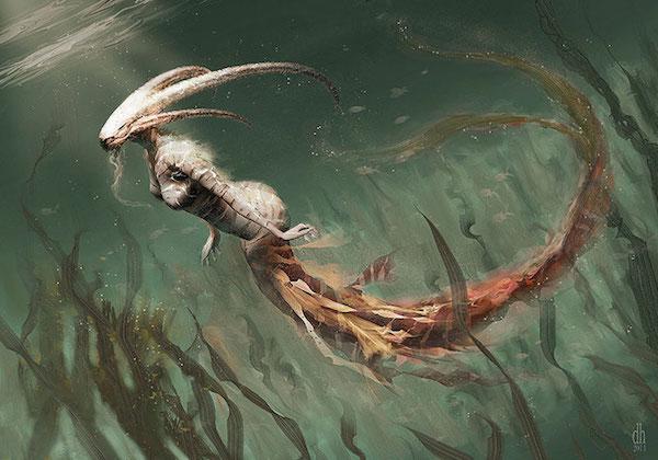 Capricorne - Et si les signes du zodiaque étaient des créatures monstrueuses?