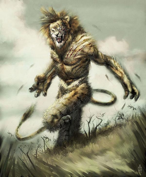 Lion - Et si les signes du zodiaque étaient des créatures monstrueuses?