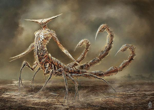 Scorpion - Et si les signes du zodiaque étaient des créatures monstrueuses?
