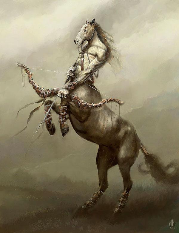 Sagittaire - Et si les signes du zodiaque étaient des créatures monstrueuses?