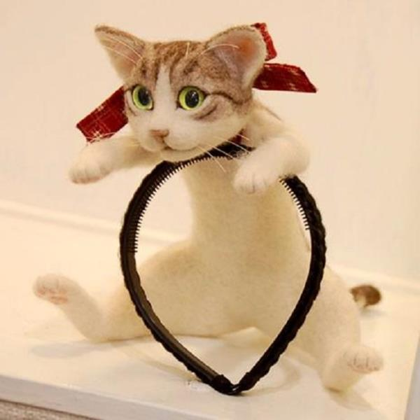 chat tête