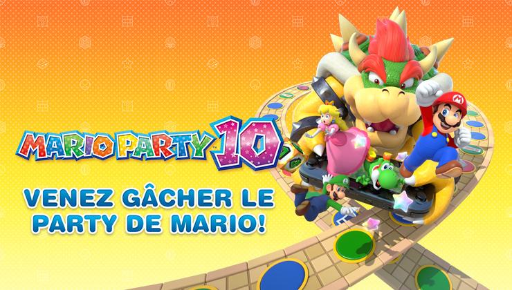 Événement Mario Party 10