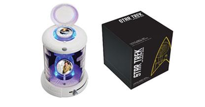 Boîte de la pièce de monnaie Star Trek