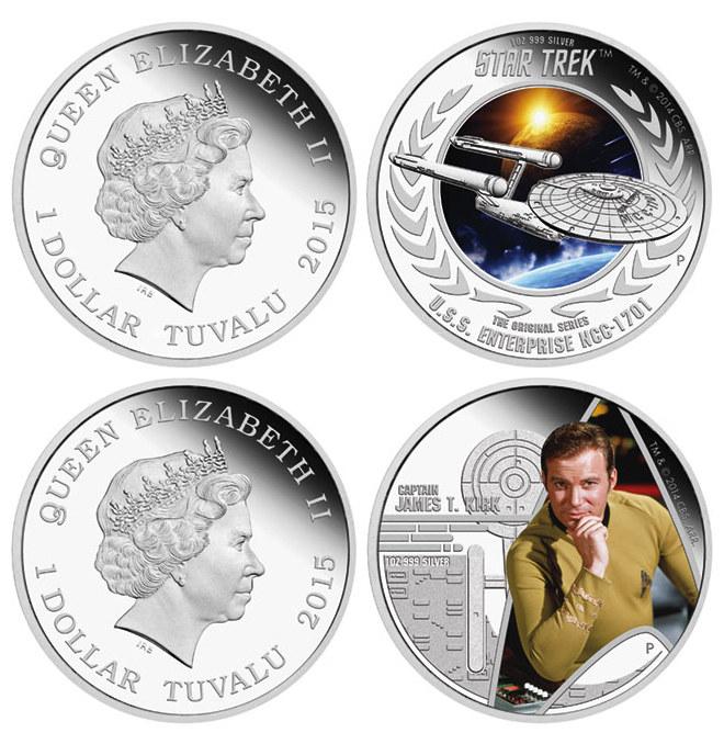 Monnaie commémorative Star Trek