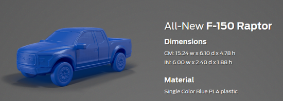 F150Raptor-The Ford 3D Store