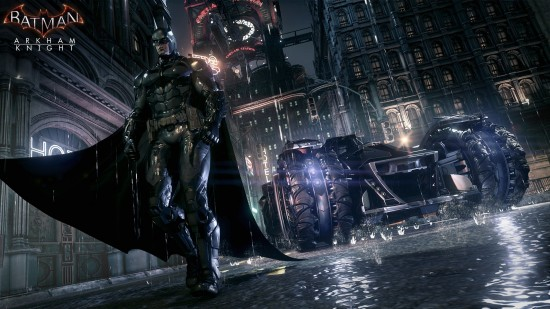 Batmobile - Batman Arkham Knight