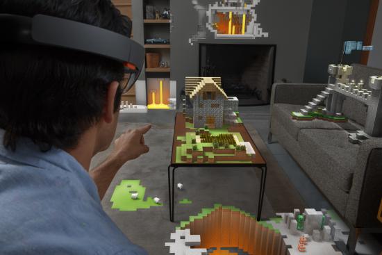 Microsoft HoloLens - Salon