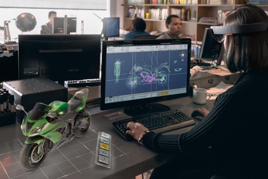 Microsoft HoloLens - PivotPoint