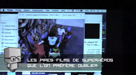 Les pires films de superhéro présenté par Les Mystérieux Étonnants