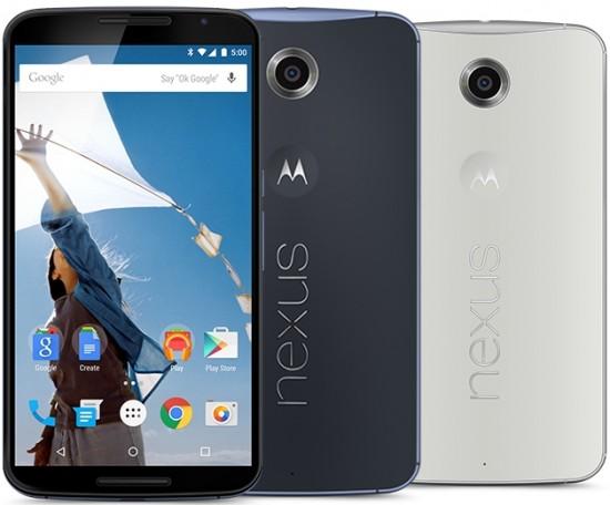 Nexus 6 - Devant & derrière