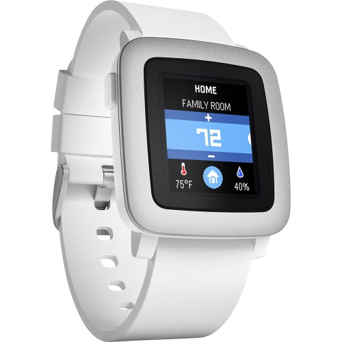 Pebble Time - White