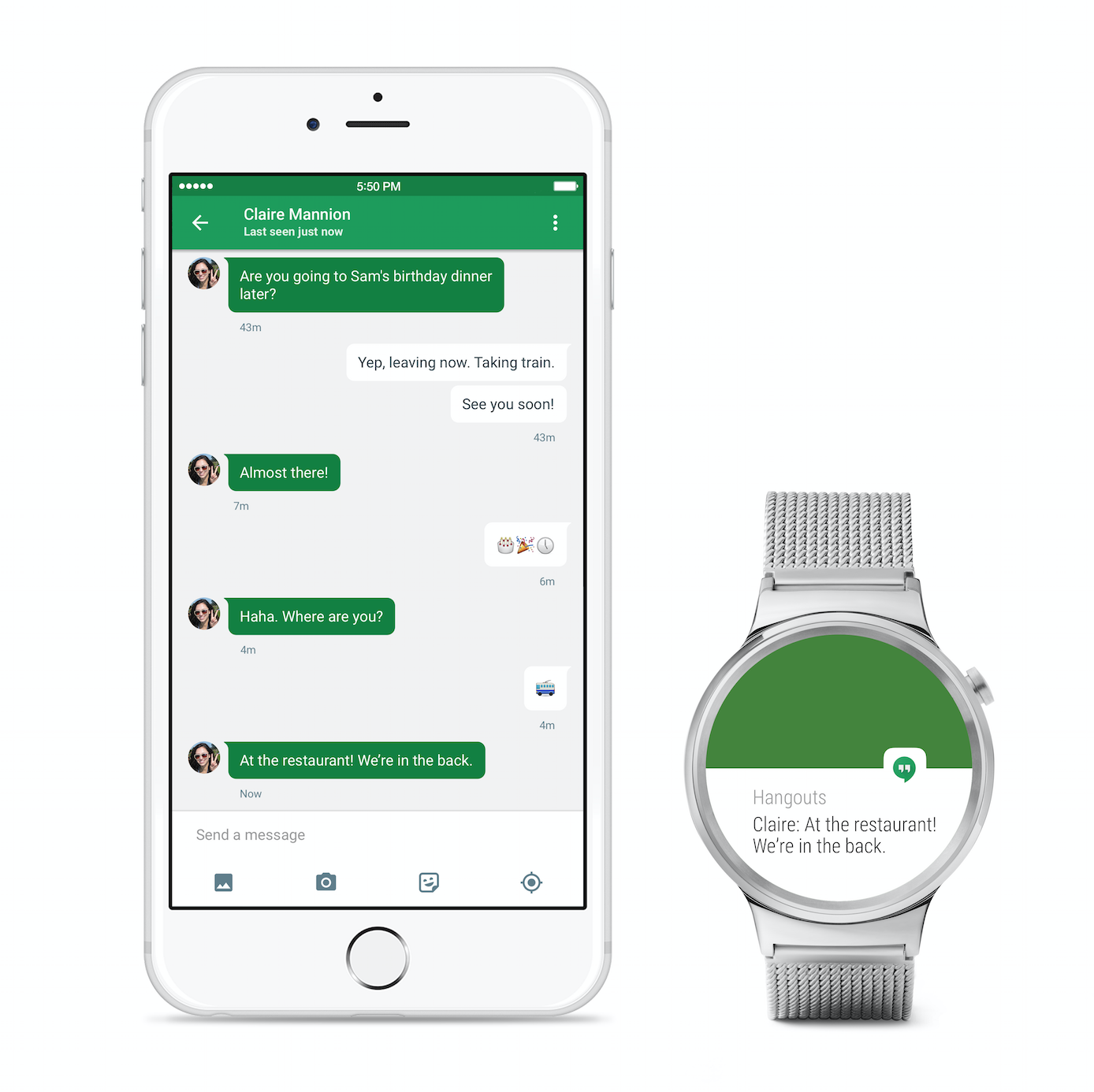 Android Wear sur iOS