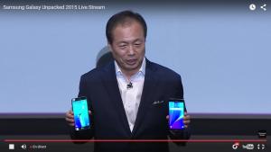 Galaxy S6 Edge+ et Note 5