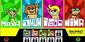 Les personnages de Crazy Pixel Streaker